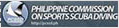 Philippine Commission Sports Scuba Diving Logo